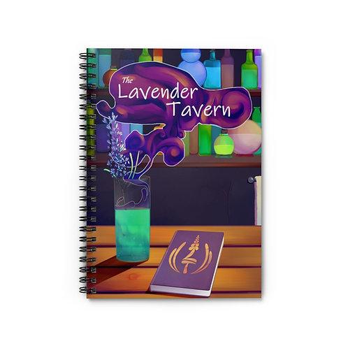 The Lavender Tavern | Spiral Notebook - Ruled Line