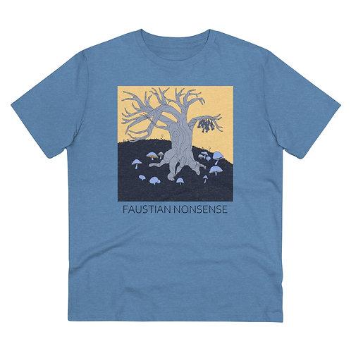 Mistletoe and Mushrooms (Color)   Eco-friendly T-Shirt