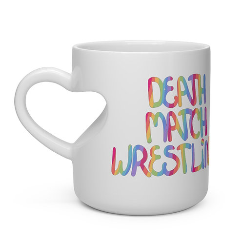 DEATHMATCH WRESTLING | Heart Shape Mug