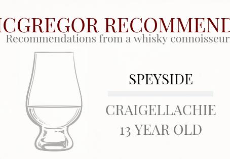 McGregor Recommends: Craigellachie 13