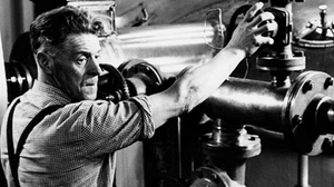 A worker at the Talisker Distillery in the 1960s.