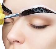 makeup-artist-applies-paints-eyebrow-260