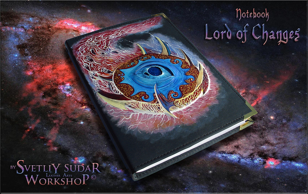 leather_notebook_lord_of_changes_by_svetliy_sudar-d7jnhzk
