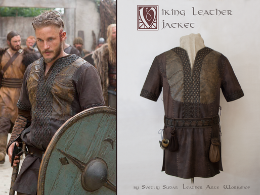 Ragnar Lothbrok Leather Jacket (replica)