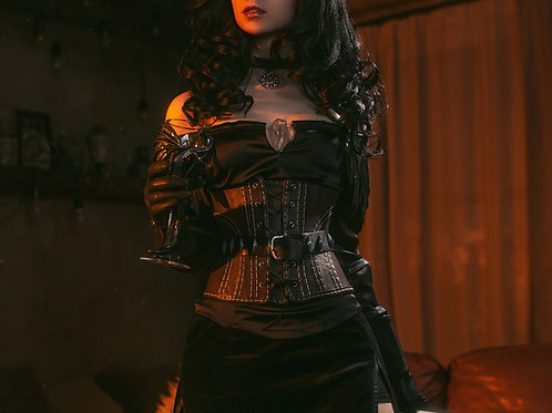 Yennefer corset (replica) inspired Witcher 3 Wild Hunt