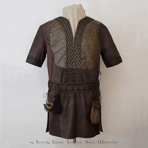 Inspired Ragnar Lothbrok Leather Jacket