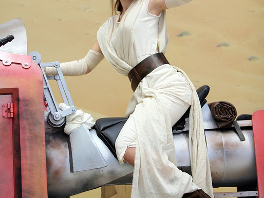 Rey's Wrist Cuff and Belt (Star Wars: Episode VII) – May 2015