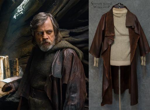 Luke Skywalker Leather Jacket Replica (Star Wars: The Last Jedi)