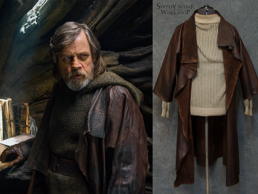 Luke Skywalker Leather Jacket Replica (Star Wars: The Last Jedi)