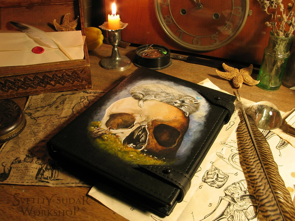 leather_notebook_vanitas_by_svetliy_sudar-d8jzyj0