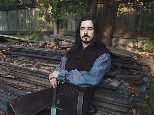 Inspired Aragorn leather vest replica