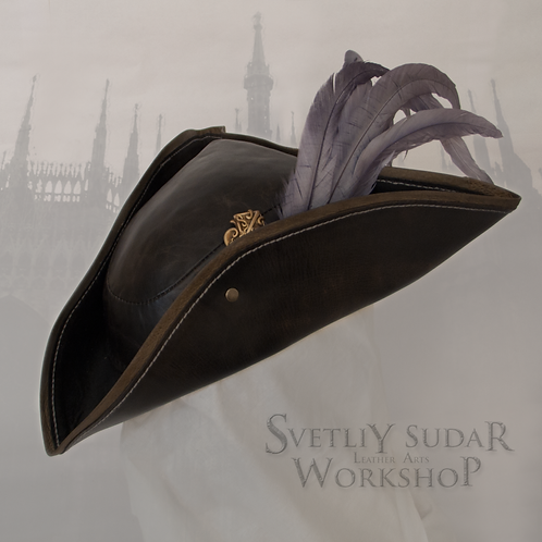 Inspired Bloodborne Lady Maria leather hat