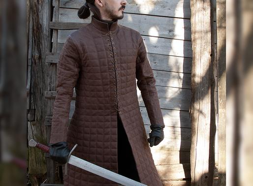 Jon Snow Quilted Armor (replica) by Svetliy Sudar Leather Arts Workshop