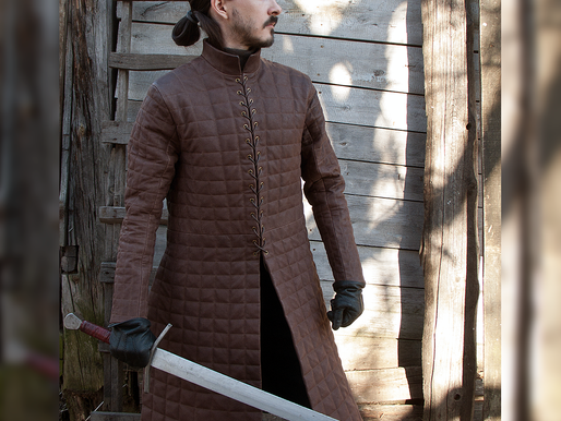 Jon Snow Quilted Armor (replica) by Svetliy Sudar Leather Arts Workshop