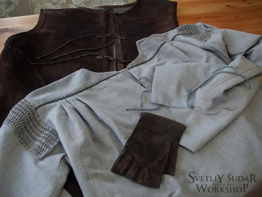 Creating of Aragorn's costume (replica) Part 1