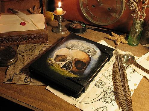 Handmade Leather Journal Vanitas