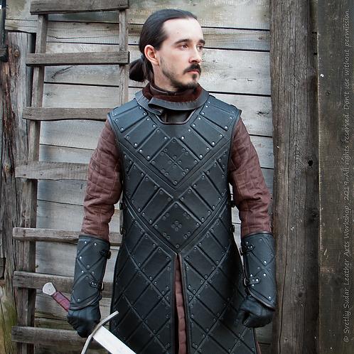 Jon Snow black leather armor (replica)