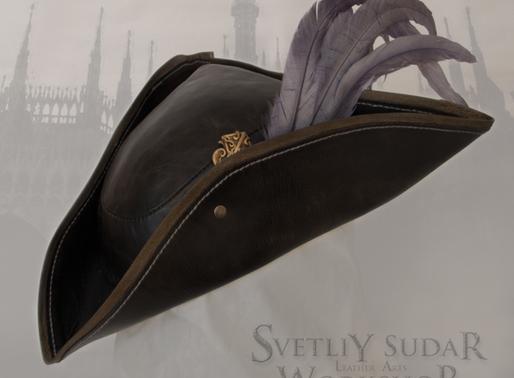 Bloodborne Lady Maria leather hat (replica) / Maria Hunter Cap