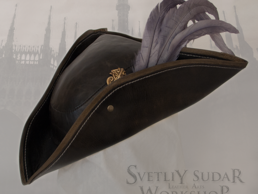 Bloodborne Lady Maria leather hat (replica) / Maria Hunter Cap