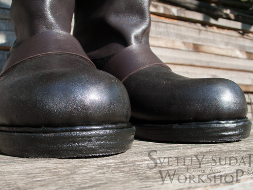 Leather Boots for Geralt (inspired The Witcher) –  August 2015