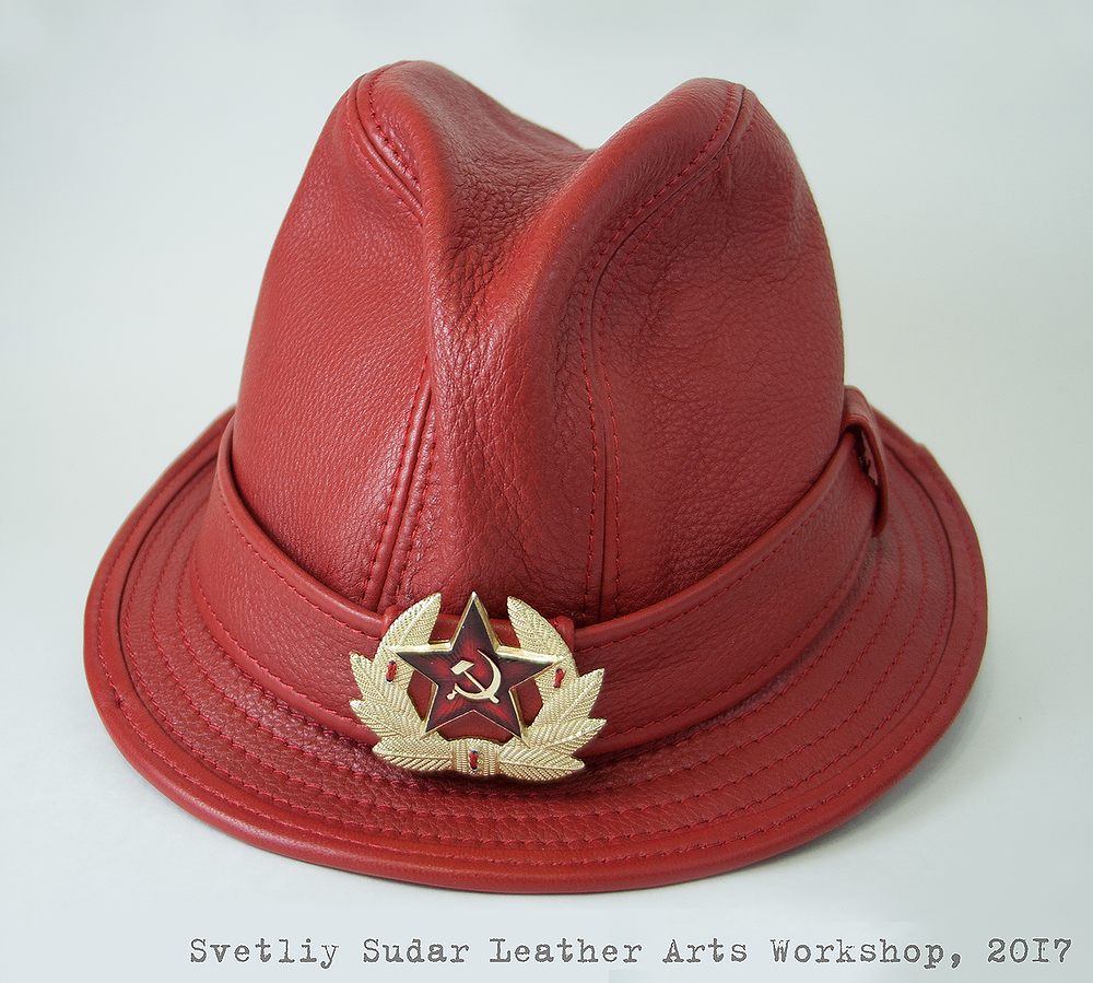 red_alert_fedora_leather_hat_by_svetliy_sudar-db53nfx