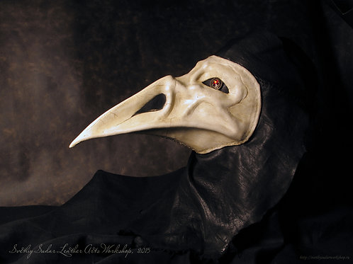 Leather mask The Plague Raven