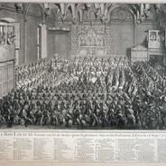 Século XVIII: 1715 / Luís XV, segurando Justiça.