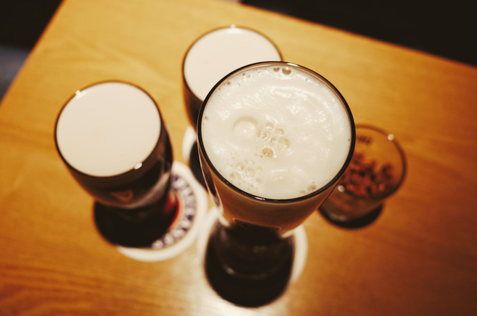 high-angle-view-of-drink-on-table-250465