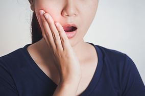 Woman has toothache,Tooth Pain And Denti