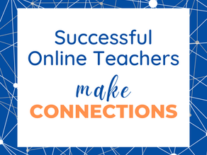 How Successful Online Teachers Connect With Their Students: Student Empathy Interviews