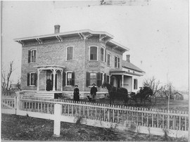 CC Spencer Homestead East De Kalb Road, 1884