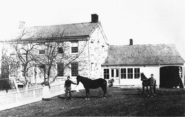Griffis Homestead, Richvile circa 1880