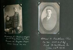 Clarence L. Perrin (right) Ernest W. Snyder (left) Altas C.Fordham