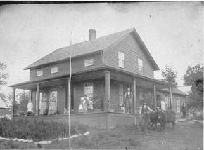 Ira Poor Homestead Child's Road, circa 1880