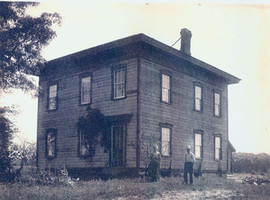 George and Ella Foster Homestead Gimlet St. Road circa 1900