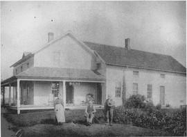 Harley Mattison Farm Risley Road, circa 1910