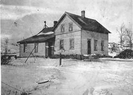 David and Minerva Hurlbut Homestead Osbornville circa 1937