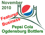 Pepsi Cola Ogdensburg Bottlers