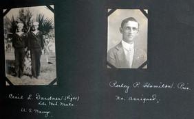 Cecil L. Gardner (right) /Perley P. Hamilton