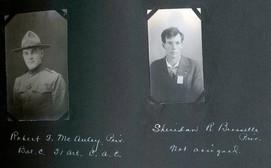 Robert F. McAuley /Sheridan R. Biesselle