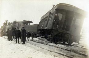 Derailment on the St Lawrence Railroad.j