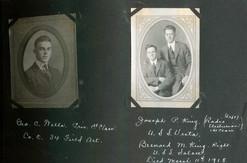 George C. Wells / Joseph P. King (left) Gerard M. King (right)