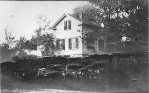 Whipple/ Hurlbut house County Route 17 De Kalb Village, circa 1908