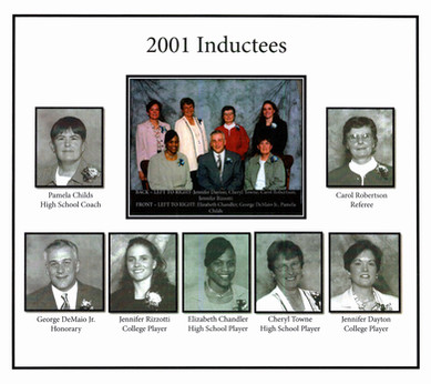 Inductee Class of 2001