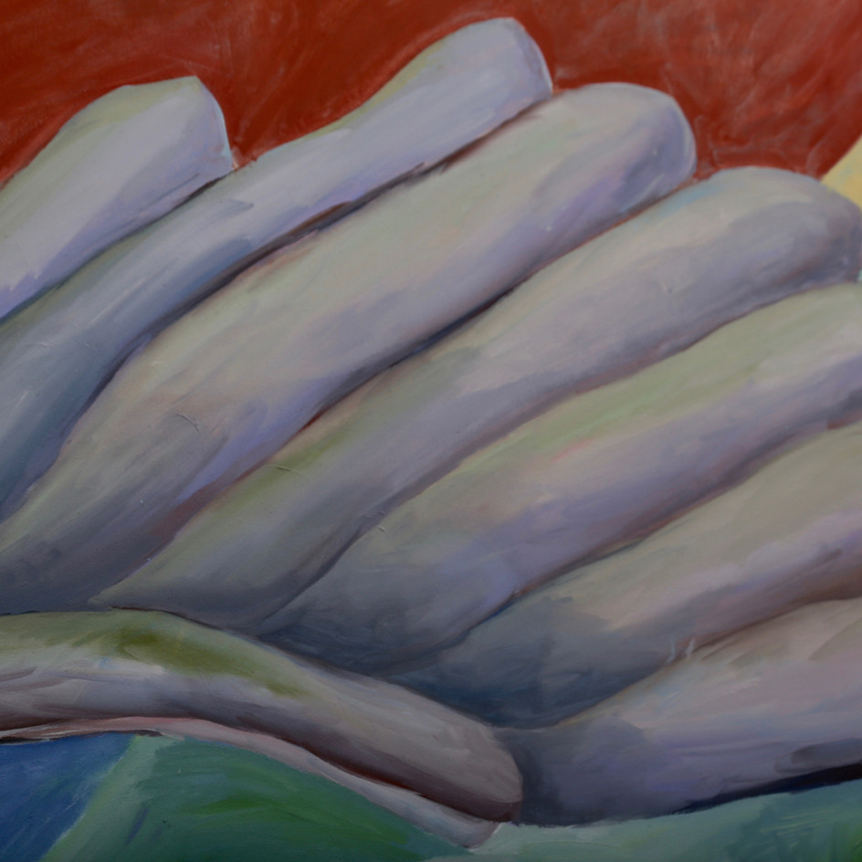 On your wings (detail), 2020