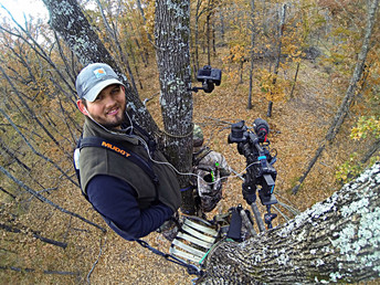 Episode #2: Setting up a camera arm in a tree stand