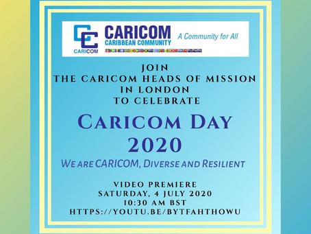 London Caricom Day 2020 Virtual Event