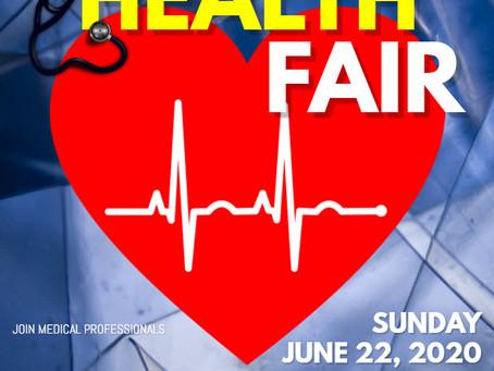 Community Health Fair (June 22nd) by the Georgia Caribbean American Heritage Coalition