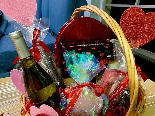 Wine Basket Raffle Valentine's Day