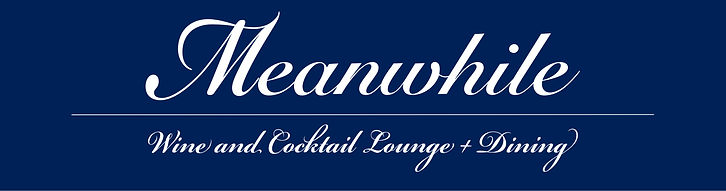 meanwhile lounge actual sign dimention w